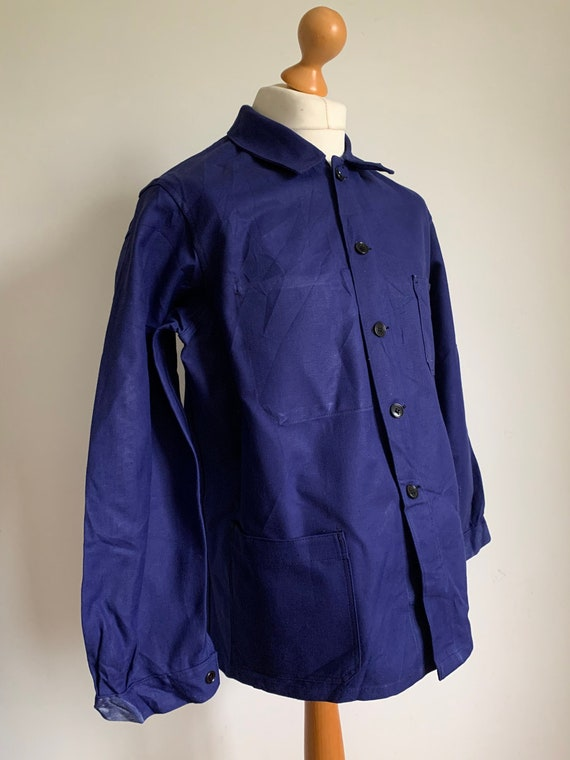 French Work-wear, Size L, Vintage Work Coat, J47