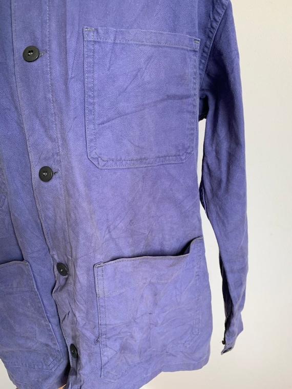 French  1960's Workwear Jacket, Size M, Vintage C… - image 4