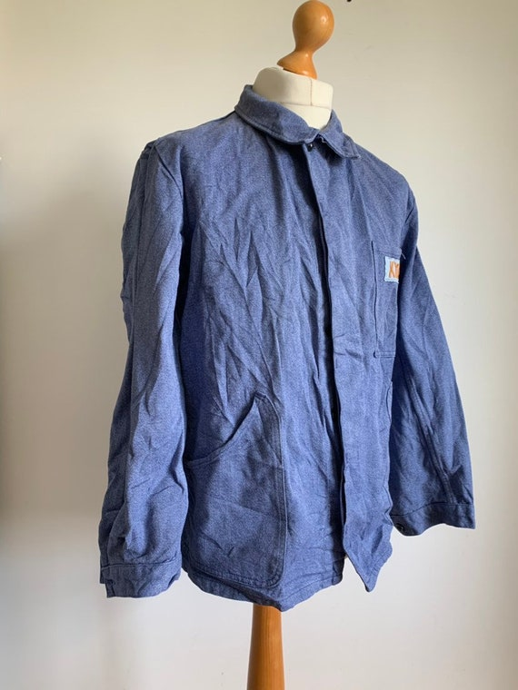 French Workwear, Size L, 60's  Vintage Chore Coat,