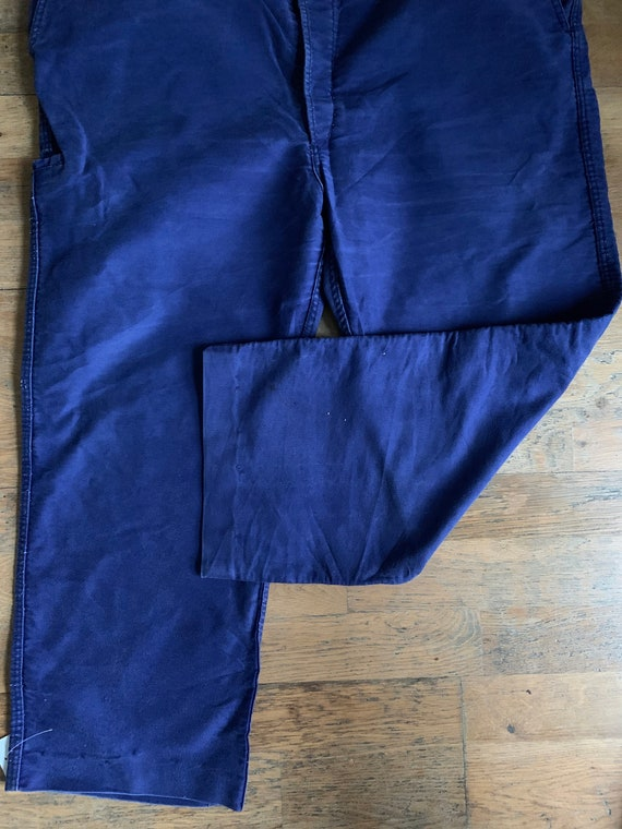 Vintage French workwear trousers , Size W40, LK33 - image 6