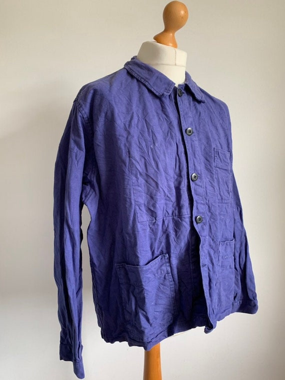 French Work-wear, Size L, Vintage Work Coat, J22