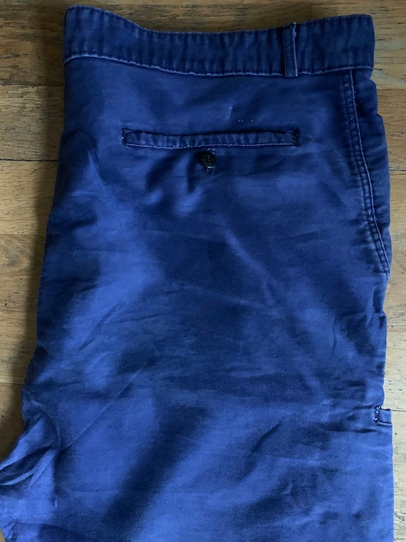 Vintage French workwear trousers , Size W40, LK33 - image 3