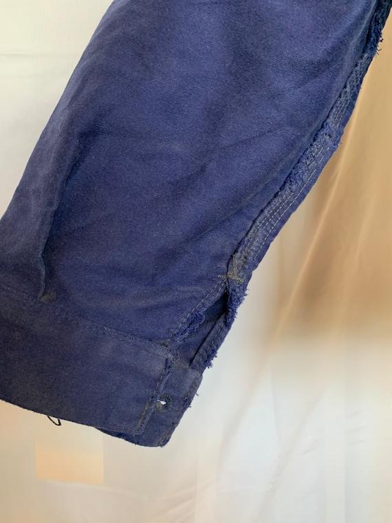 French Moleskin Workwear Jacket, Size M, Vintage … - image 10