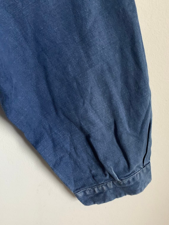 Stunning French Workwear, Size L, Vintage Chore C… - image 7