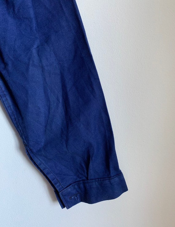 French Workwear Jacket, Size L, Vintage 1960's Ch… - image 10