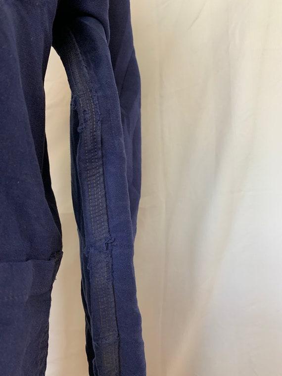 French Moleskin Workwear Jacket, Size M, Vintage … - image 9