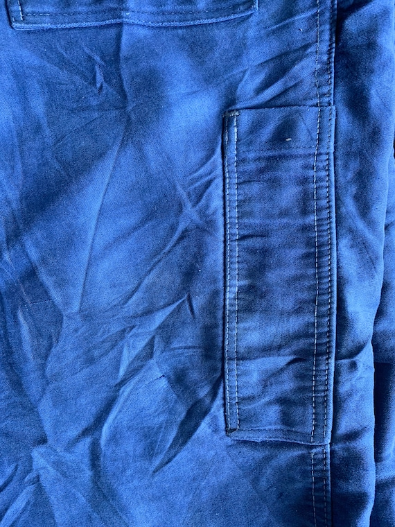 Vintage French workwear trousers , Size W36, - image 5