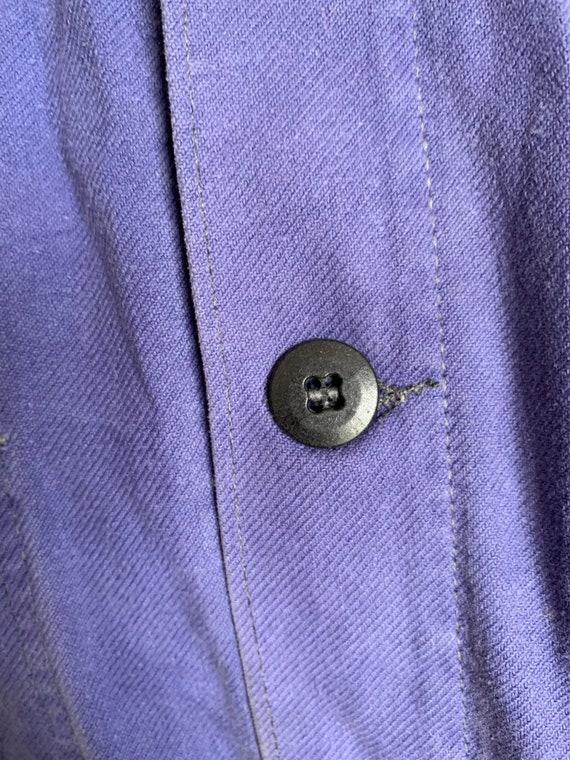 French  1960's Workwear Jacket, Size M, Vintage C… - image 5