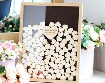 Hochzeit Gastebuch Ideen Hochzeitsgast Buch Alternative Holz Etsy
