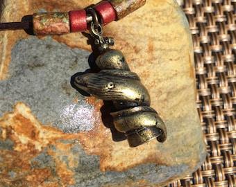 Moray Eel with Scuba Tank Necklace