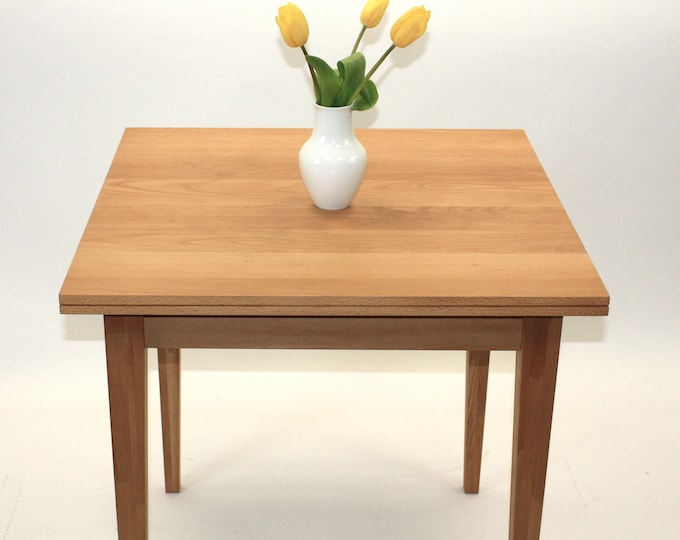 "REKORD kitchen table 31"" small dining table dining table 4 persons kitchen table square"