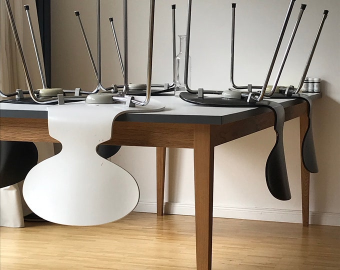 dining table white Formica Desk industrial design REKORD furniture