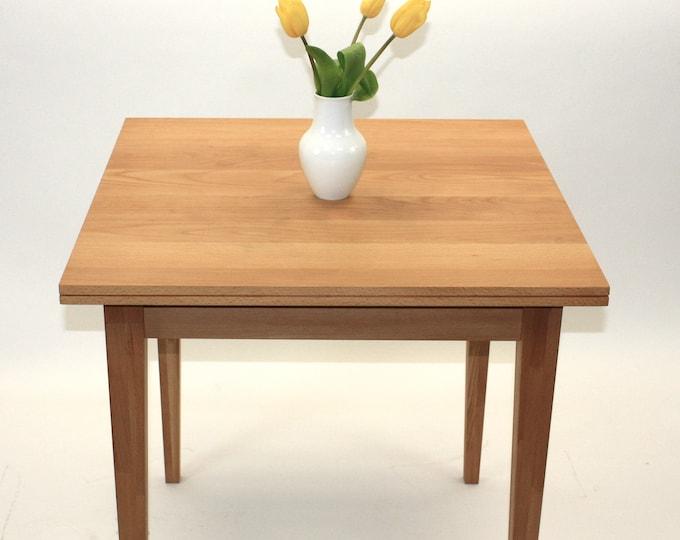 kitchen table square oak wood desk danish design REKORD furniture