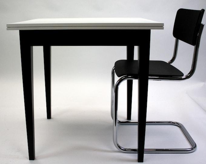 kitchen table vintage design table oak wood REKORD furniture