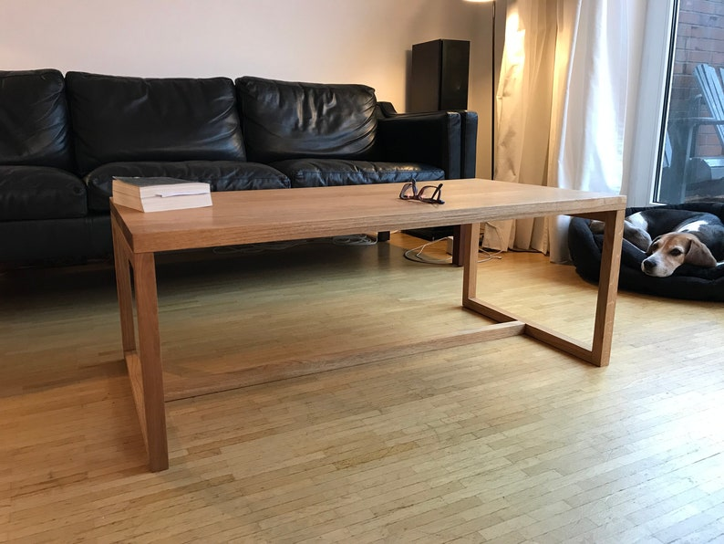 REKORD Couchtisch Eiche Coffee table Holz Couchtisch Holz | Etsy