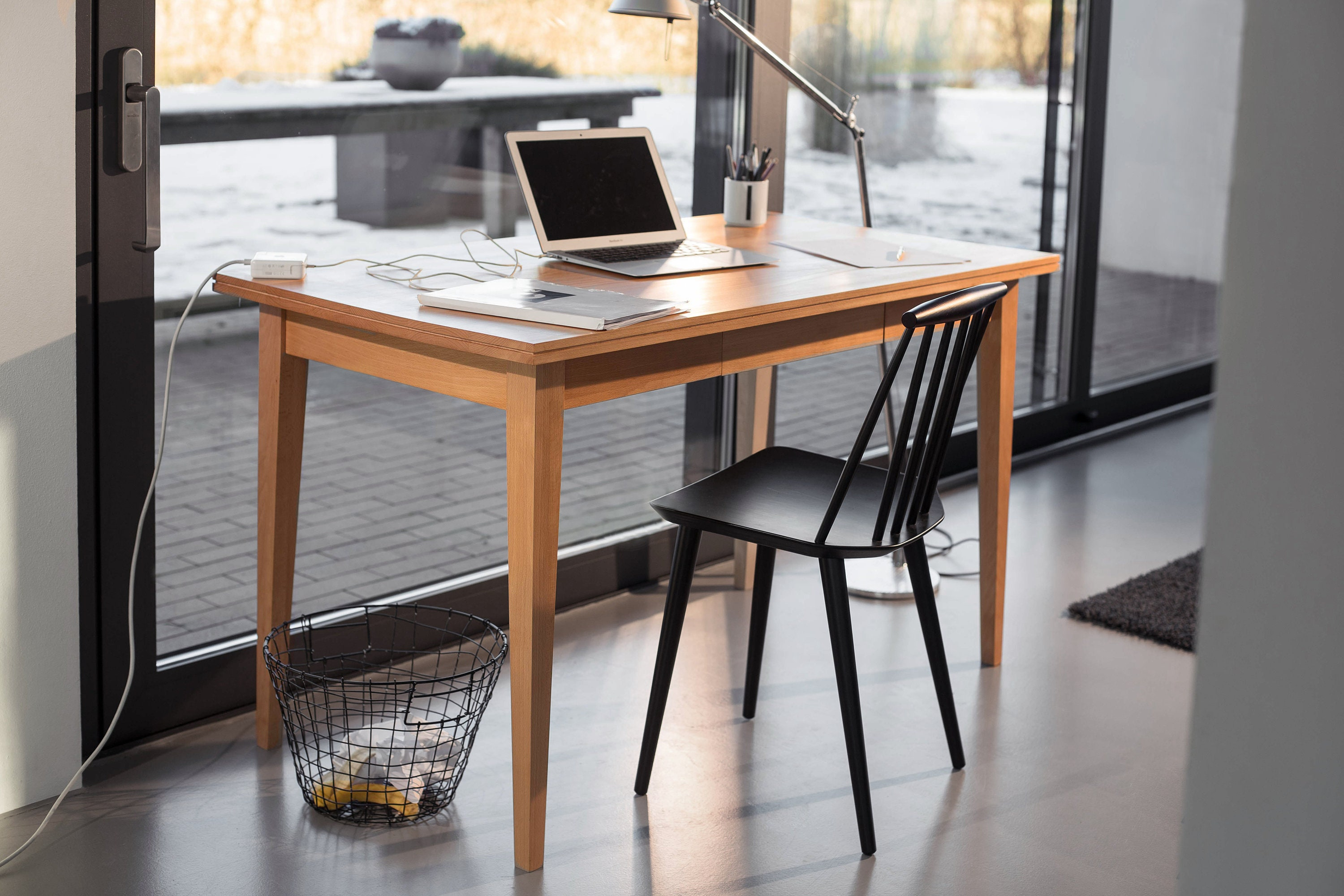 Cool Rekord Desk 60 Office Desk Oak Desk Timber Office Table Wood Download Free Architecture Designs Pushbritishbridgeorg