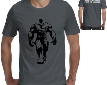 893dfac9 Hulk Mens T Shirt Cool Gym Bodybuilding Training Top Lifting Fitness