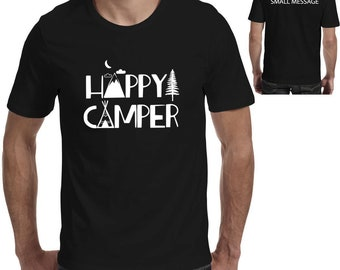 ceb1f54e4 Happy camper Funny Camping T-Shirt