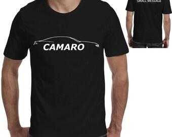 b45b0ddd47 Camaro Silhouette Tee Printed Gift T-Shirt