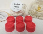 MULLED WINE scented wax melts, handmade in Wales by Klairs Kandles, natural wax