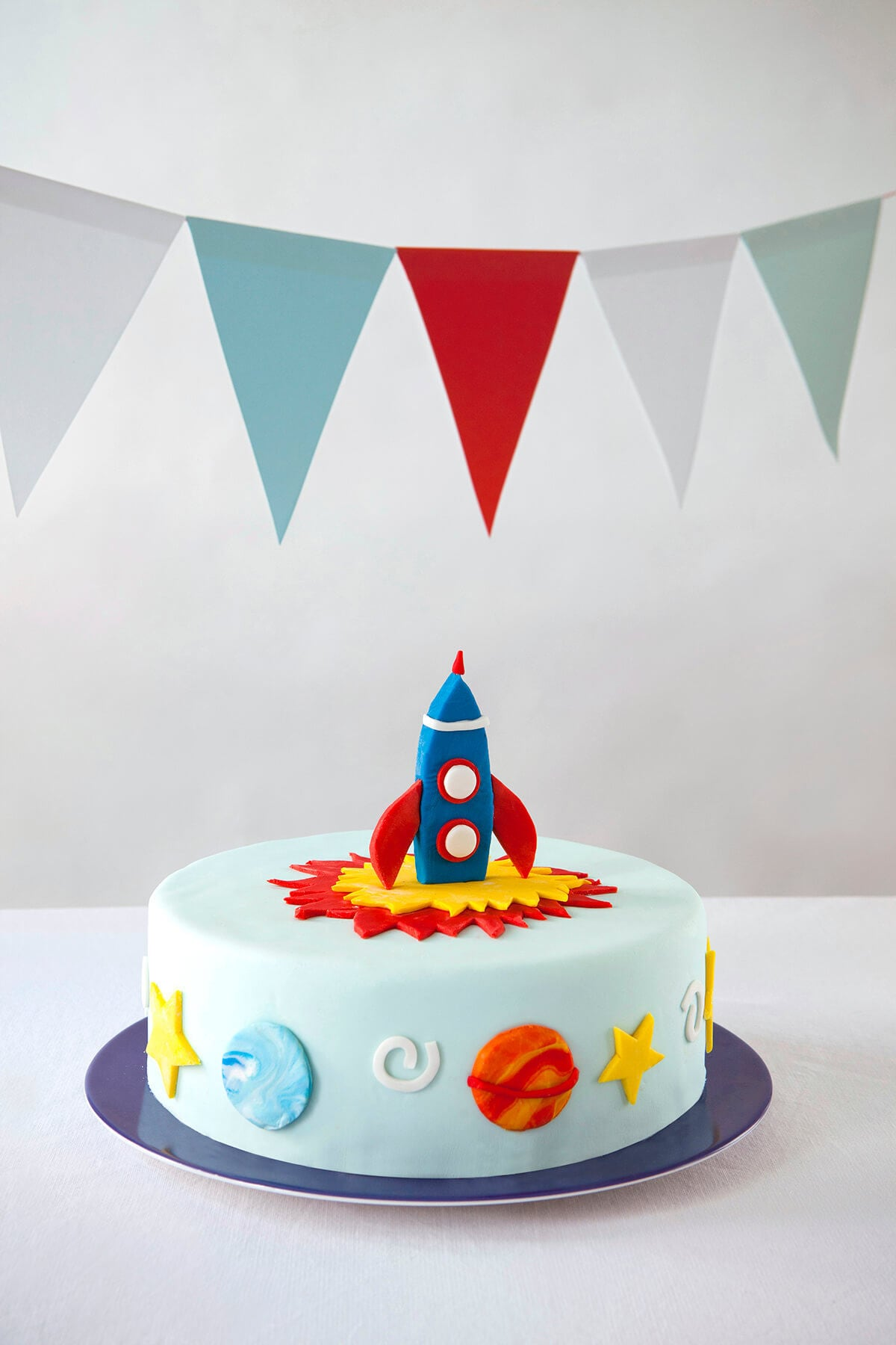 Incredible Cakest Co Diy Rocket Cake Kit Ingredients Decorating Tools Etsy Funny Birthday Cards Online Alyptdamsfinfo