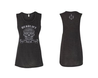 Deadlift Crew Muscle Tank CrossFit HH6 Strong Lift Heavy