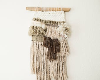 Woven Wall Hanging   Loom Weaving   Wall Decor   Tapestry