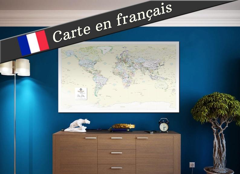 Mappemonde en français image 0