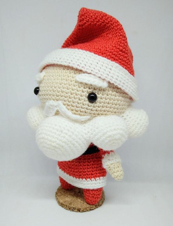 Santa Claus amigurumi pattern patrón amigurumi papa noel | Etsy