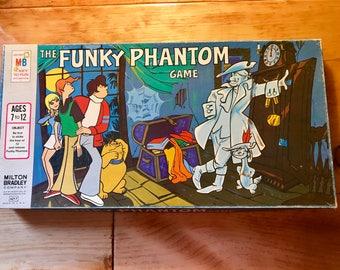 Vintage The Funky Phantom Board Game By  Milton Bradley