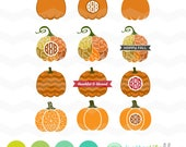 Pumpkins SVG Cut Files: Fall Pumpkins SVG Pack, Autumn Pumpkins svg, Autumn dxf, fall svg, DXF, Silhouette Cameo, Cricut Pumpkin Cut File