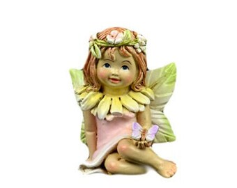 """Spring Fairy with Butterfly - 1.75 x 1 x 1"""""""