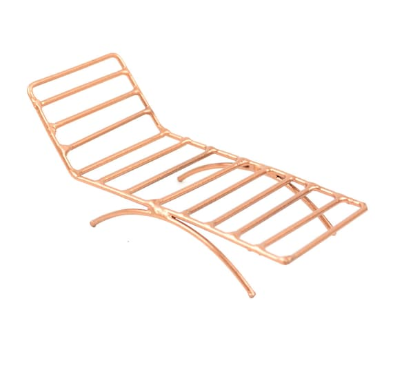 Strange Copper Lounge Chair Copper Toned Chaise Outdoor Furniture Pool Furniture Lake Chair Beach Chair Island Chair Andrewgaddart Wooden Chair Designs For Living Room Andrewgaddartcom