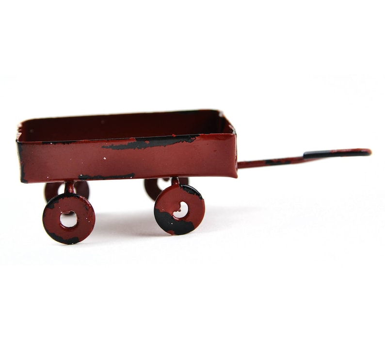 Rustic Red Wagon image 0