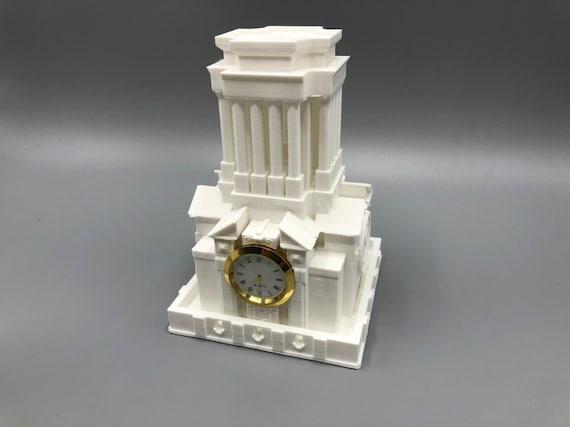 3D Printed UT Tower Desk Clock - Austin Skyline Downtown Austin Texas