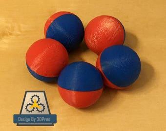 Large Magnetic Fidget Balls