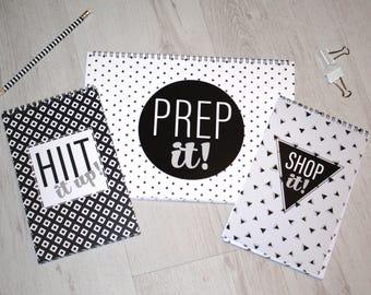 Prep it, Shop it, Hiit it up!
