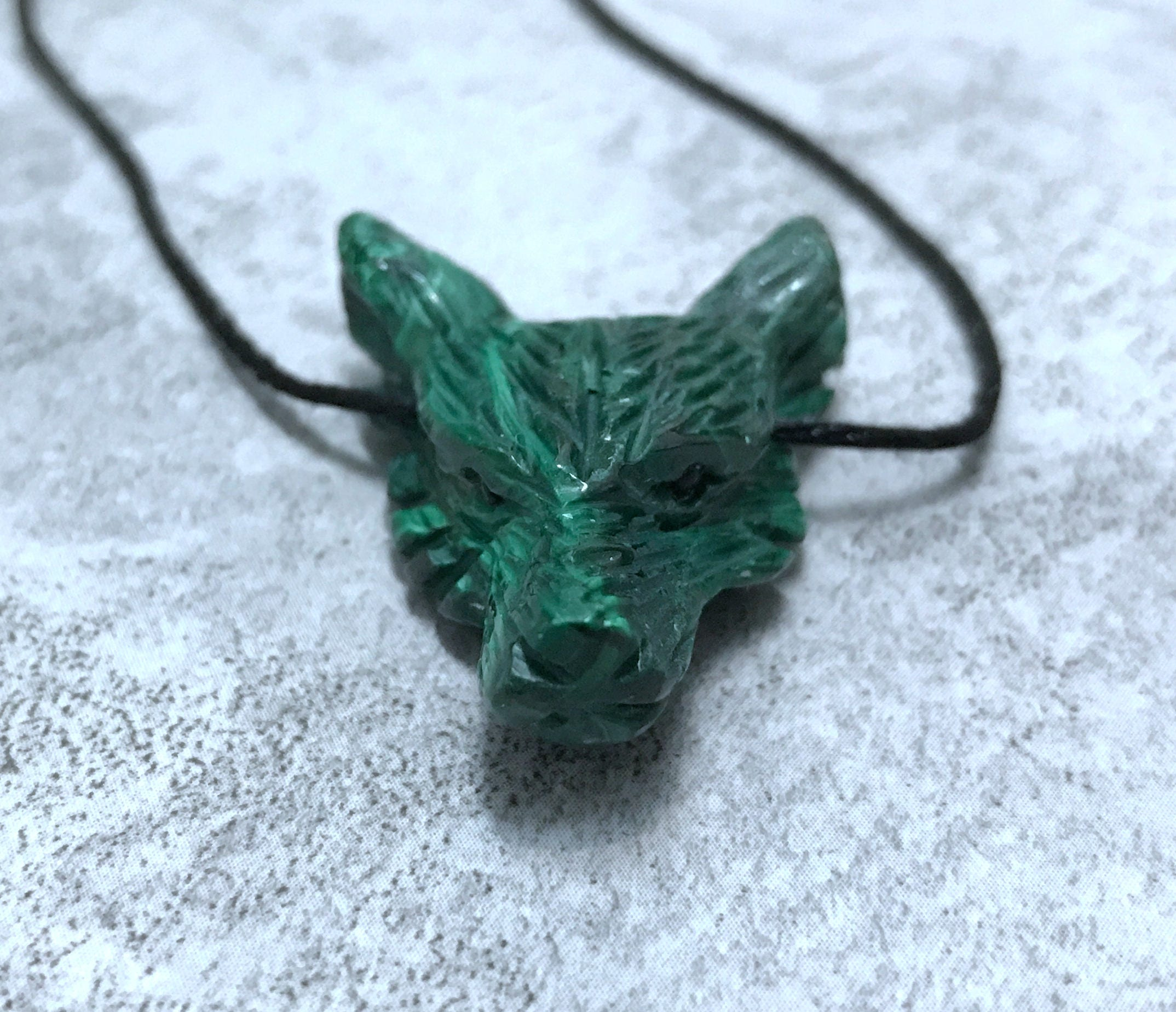 dragon wolf front head product pendant crafty celts