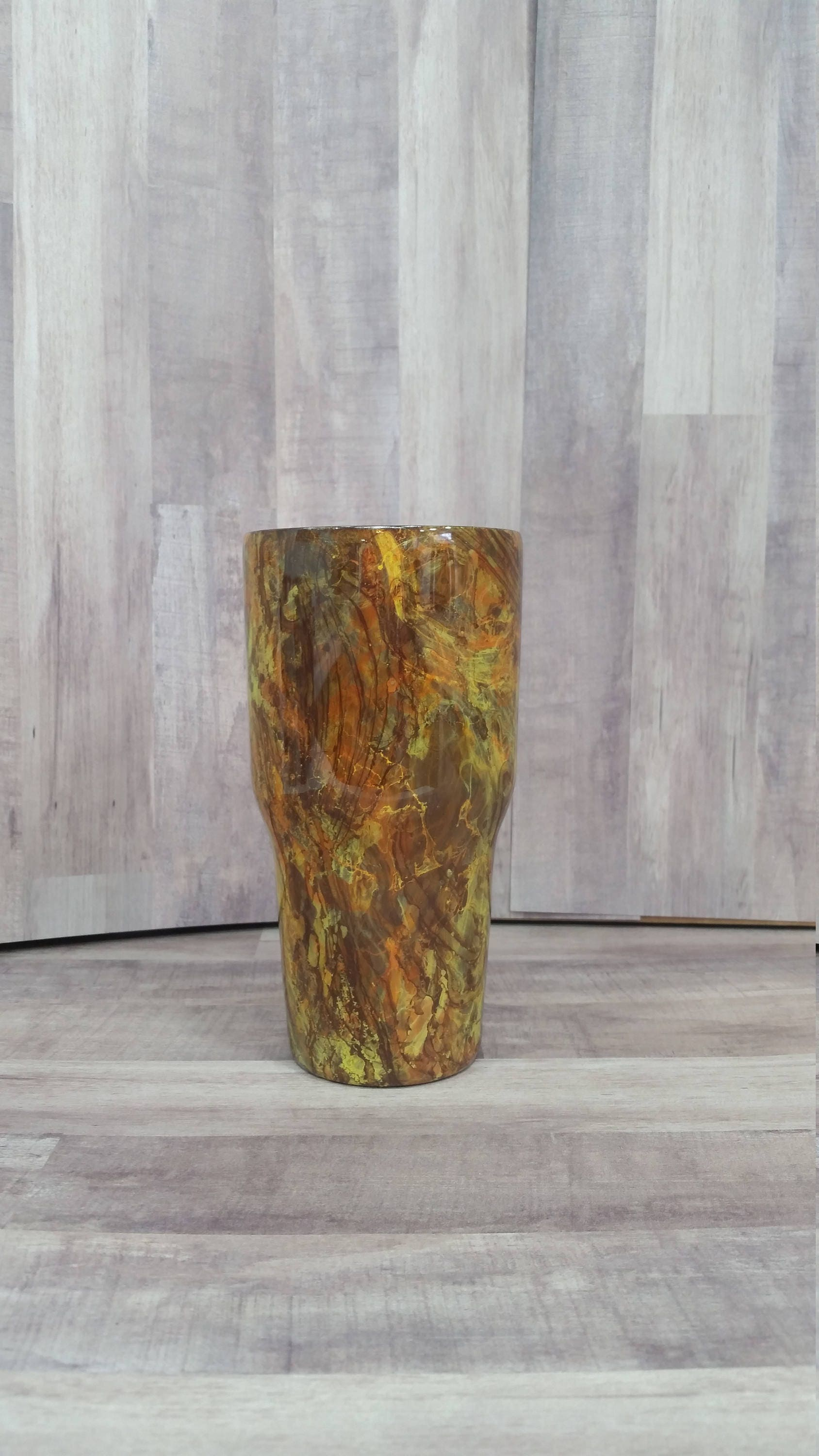 Hydro dipped cup / Hydro dipped tumbler / Hydro swirl cup /   Etsy