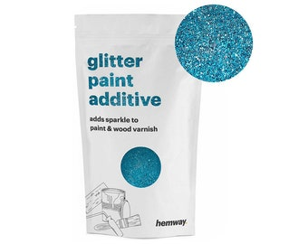 Hemway Glitter Paint Crystals Additive 100g for Emulsion | Etsy