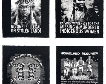 Indigenous Resistance Patch Collection Set 1