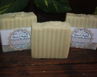 Tobacco & Bayleaf Handmade Soap