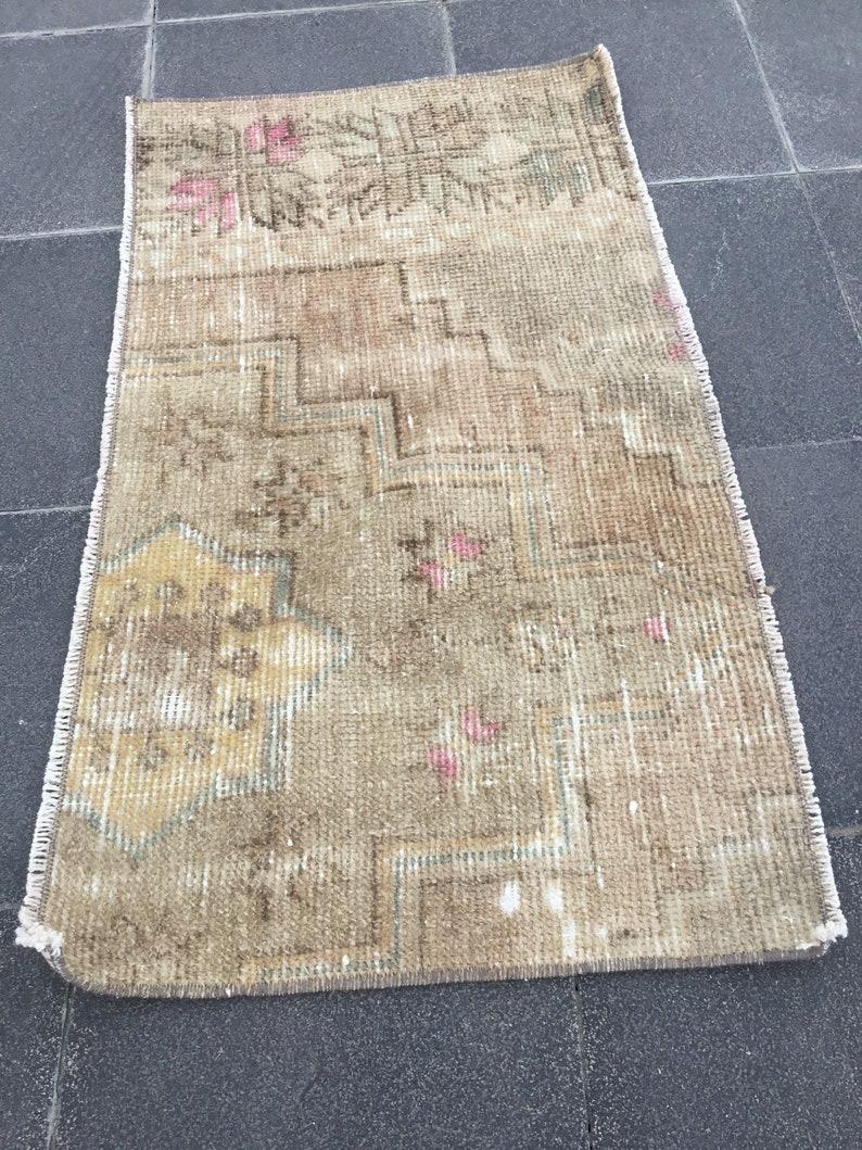 vintage rug  oushak rug  turkish rug  kitchen rug  rug pillow  turkey carpet  door mat rug  bohemian area rug  1.6 x 2.7  MB 2020