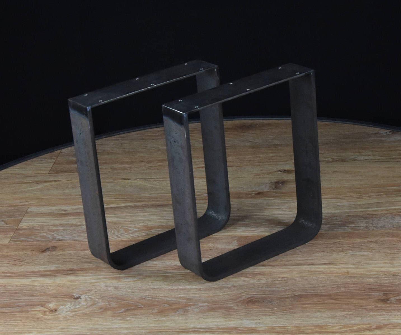 Pieds de table basse u forme les jambes des pieds de table etsy - Pied pour table basse ...