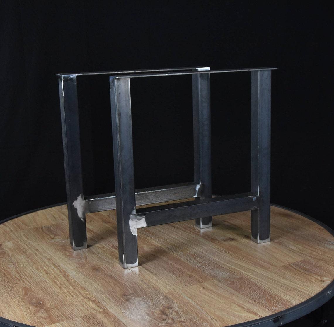 Table Legs, A Shape Table Legs, Steel bench legs,  SET of 2