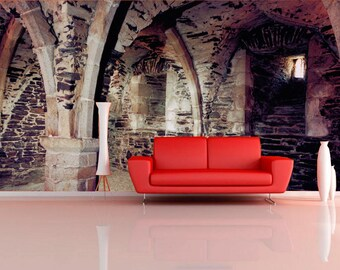 Gothic wall mural Etsy