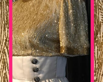 vtg bob mackie//dress w/pockets