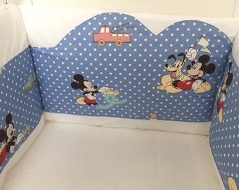 """Mickey"" baby bumper"