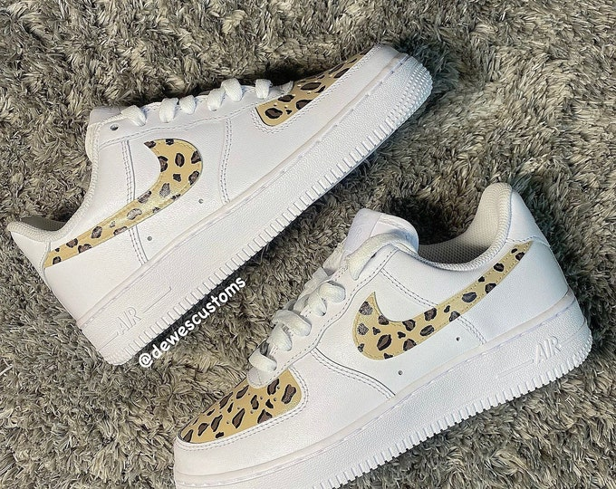 Leopard Print AF1s