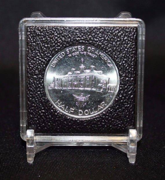 5 Card Holder Stand Mint Proof Set Coin Holder Capsule Case Display Stands Black